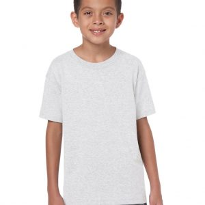 Ash Grey Gildan HEAVY COTTON™ YOUTH T-SHIRT Gyermek ruházat