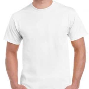 White Gildan HAMMER ADULT T-SHIRT Pólók/T-Shirt