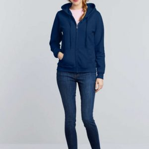 Gildan HEAVY BLEND™ LADIES' FULL ZIP HOODED SWEATSHIRT Pulóverek