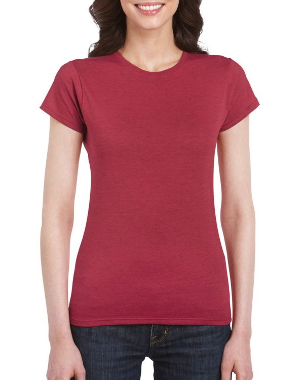 Antique Cherry Red Gildan SOFTSTYLE® LADIES' T-SHIRT Pólók/T-Shirt