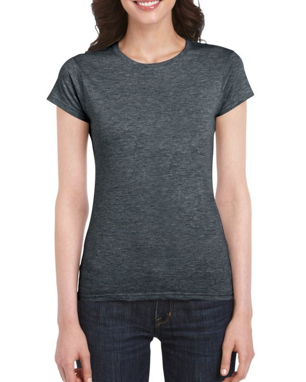 Dark Heather Gildan SOFTSTYLE® LADIES' T-SHIRT Pólók/T-Shirt