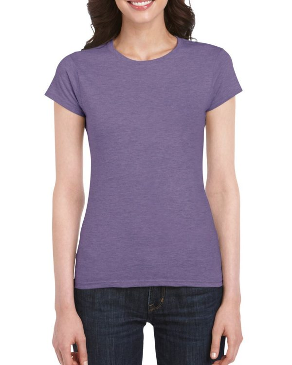 Heather Purple Gildan SOFTSTYLE® LADIES' T-SHIRT Pólók/T-Shirt