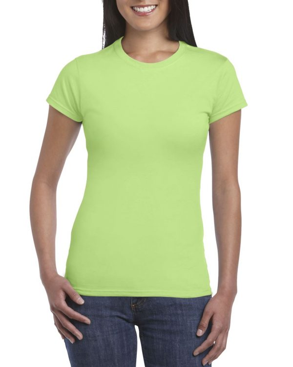 Mint Green Gildan SOFTSTYLE® LADIES' T-SHIRT Pólók/T-Shirt