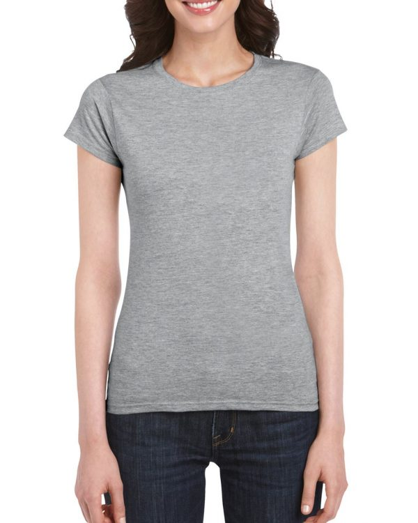 RS Sport Grey Gildan SOFTSTYLE® LADIES' T-SHIRT Pólók/T-Shirt