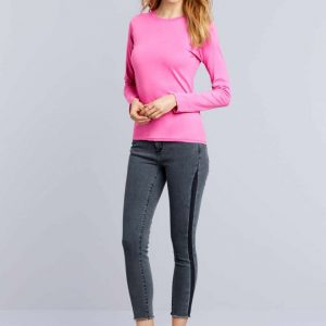 Gildan SOFTSTYLE® LADIES' LONG SLEEVE T-SHIRT Pólók/T-Shirt