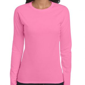 Azalea Gildan SOFTSTYLE® LADIES' LONG SLEEVE T-SHIRT Pólók/T-Shirt