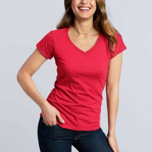 Gildan SOFTSTYLE® LADIES' V-NECK T-SHIRT Pólók/T-Shirt