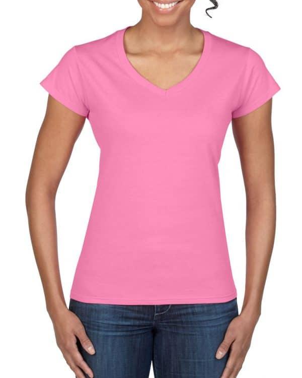 Azalea Gildan SOFTSTYLE® LADIES' V-NECK T-SHIRT Pólók/T-Shirt