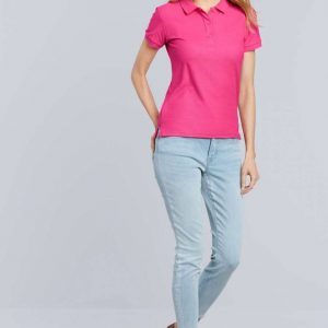 Gildan PREMIUM COTTON® LADIES' DOUBLE PIQUÉ POLO Galléros pólók