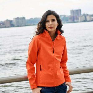 Gildan HAMMER LADIES SOFTSHELL JACKET Polár & Softshell