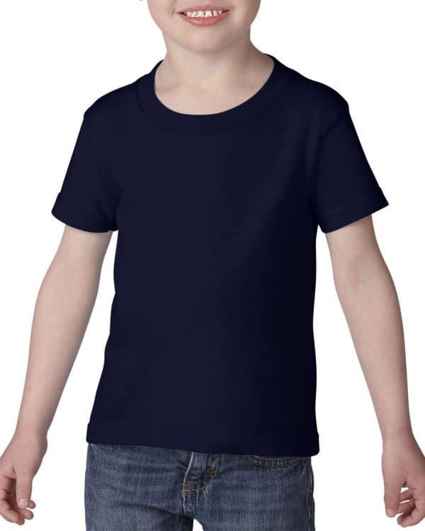 Navy Gildan HEAVY COTTON™ TODDLER T-SHIRT Gyermek ruházat