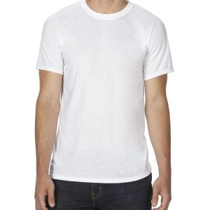 White Gildan SUBLIMATION ADULT  T-SHIRT Pólók/T-Shirt