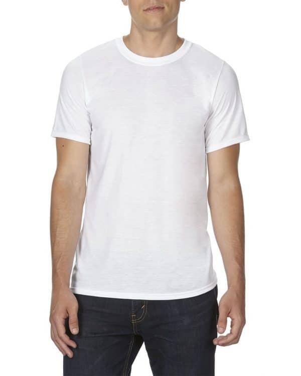 White Gildan SUBLIMATION ADULT  T-SHIRT Pólók/T-Shirt