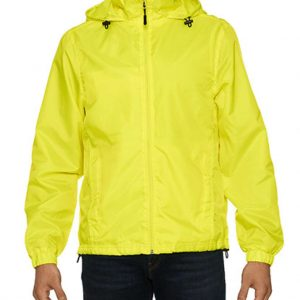 Safety Green Gildan HAMMER UNISEX WINDWEAR JACKET Széldzsekik