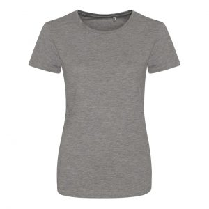Heather Grey Just Ts GIRLIE TRI-BLEND T Pólók/T-Shirt