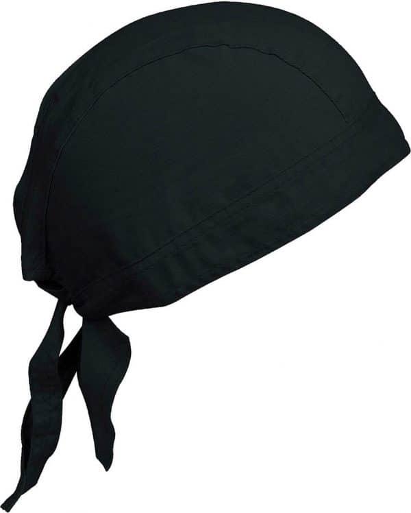 Black K-UP CAP BANDANA - UNISEX BANDANA Sapkák