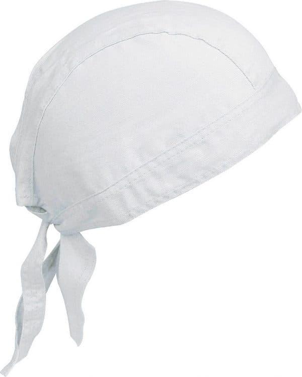 White K-UP CAP BANDANA - UNISEX BANDANA Sapkák