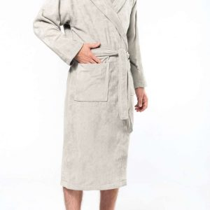 Kariban VELOUR HOODED BATHROBE Törölközõk