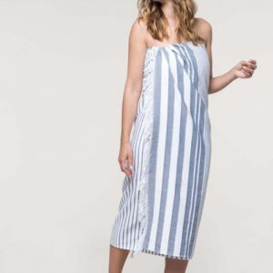 Kariban STRIPED FRINGED FOUTA Törölközõk