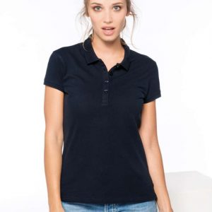 Kariban LADIES' SHORT-SLEEVED PIQUÉ POLO SHIRT Galléros pólók
