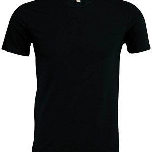 Black Kariban EROS - MEN'S SHORT SLEEVE CREW NECK T-SHIRT Pólók/T-Shirt