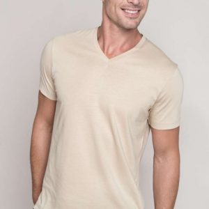Kariban MEN'S SHORT SLEEVE V-NECK T-SHIRT Pólók/T-Shirt