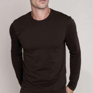 Kariban MEN'S LONG SLEEVE CREW NECK T-SHIRT Pólók/T-Shirt