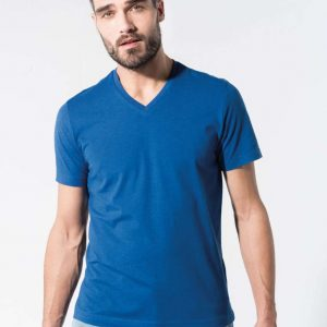 Kariban MEN'S ORGANIC COTTON V-NECK T-SHIRT Pólók/T-Shirt