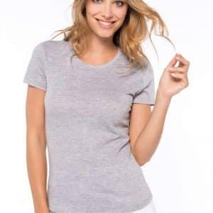 Kariban LADIES' CREW NECK SHORT SLEEVE T-SHIRT Pólók/T-Shirt