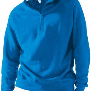 Kariban ZIP NECK SWEATSHIRT Pulóverek
