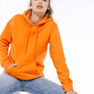 Kariban LADIES' HOODED SWEATSHIRT Pulóverek