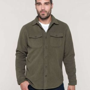 Kariban SHERPA-LINED FLEECE OVERSHIRT Pulóverek