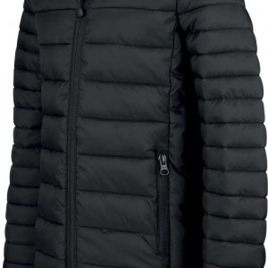 Black Kariban MEN'S LIGHTWEIGHT HOODED PADDED JACKET Kabátok