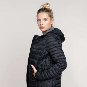 Kariban LADIES' LIGHTWEIGHT HOODED PADDED JACKET Kabátok