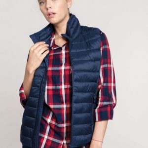 Kariban LADIES' LIGHTWEIGHT SLEEVELESS JACKET Mellények