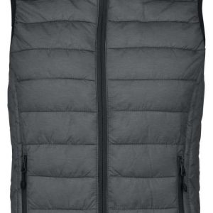 Marl Dark Grey Kariban LADIES' LIGHTWEIGHT SLEEVELESS JACKET Mellények