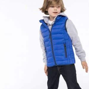 Kariban KIDS' LIGHTWEIGHT SLEEVELESS PADDED JACKET Gyermek ruházat