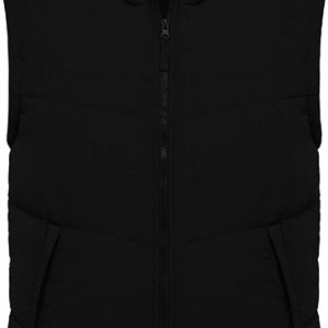 Black Kariban FLEECE LINED BODYWARMER Mellények