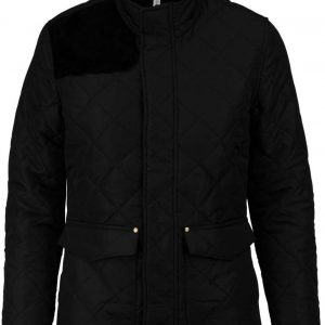 Black/Black Kariban LADIES' QUILTED JACKET Kabátok