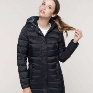 Kariban LADIES' LIGHTWEIGHT HOODED PARKA Kabátok