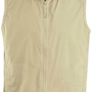 Beige/Grey Kariban RECORD - FLEECE LINED BODYWARMER Mellények