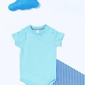 Kariban BABIES' SHORT-SLEEVED BODYSUIT Gyermek ruházat