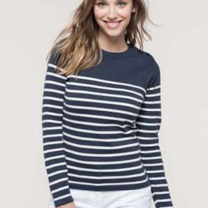Kariban LADIES' SAILOR JUMPER Pulóverek