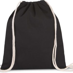 Black Kimood DRAWSTRING BAG WITH THICK STRAPS Táskák és Kiegészítők