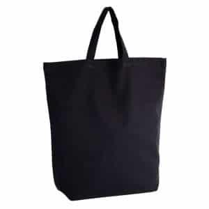 Black Kimood COTTON SHOPPING BAG Táskák és Kiegészítők