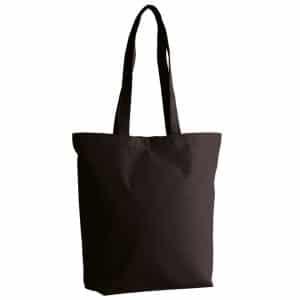 Black Kimood ORGANIC COTTON TOTE BAG Táskák és Kiegészítők