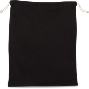Black Kimood COTTON BAG WITH DRAWCORD CLOSURE - LARGE SIZE Táskák és Kiegészítők