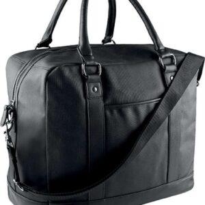 Black Kimood COATED COTTON TRAVEL BAG Táskák és Kiegészítők