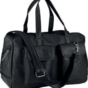 Black Kimood MULTIPOCKET TRAVEL BAG Táskák és Kiegészítők