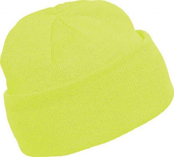 Fluorescent Yellow K-UP BEANIE Sapkák